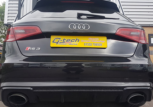 Audi RS3 Service - rear Derby