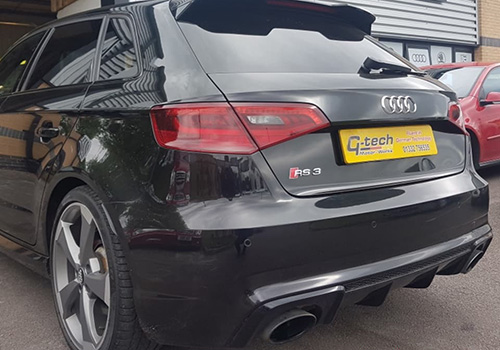 Audi RS3 Maintenance Rear Quarter