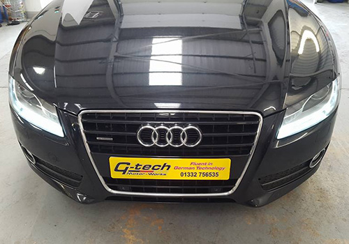 Audi TT Quattro servicing Derby